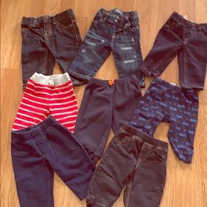 8 baby boy jeans and pants